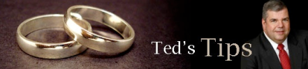 Ted's Tips - December Weddings
